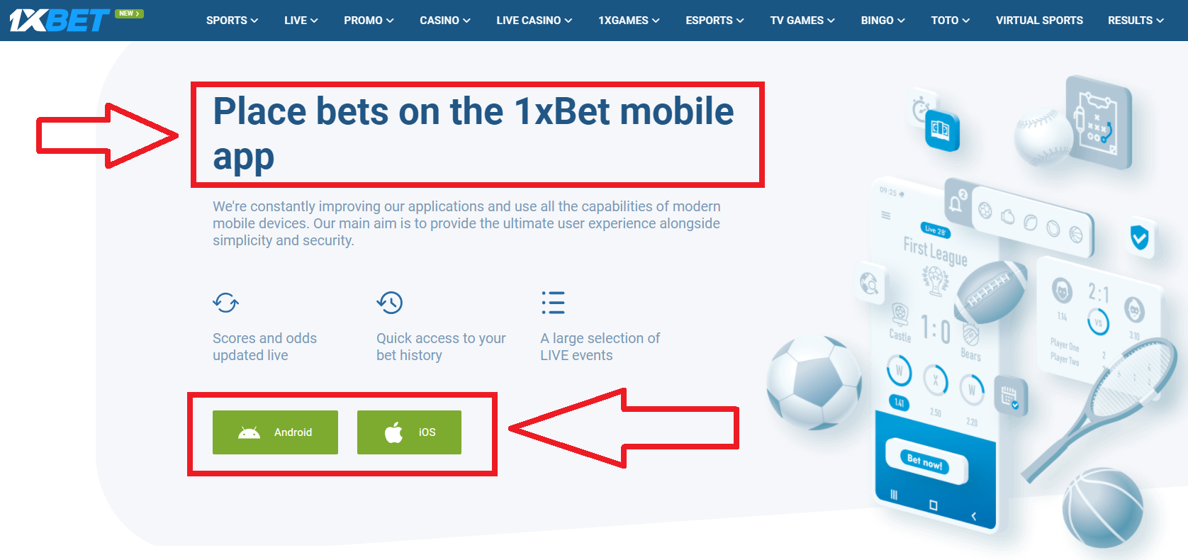 What is 1xBet apk?